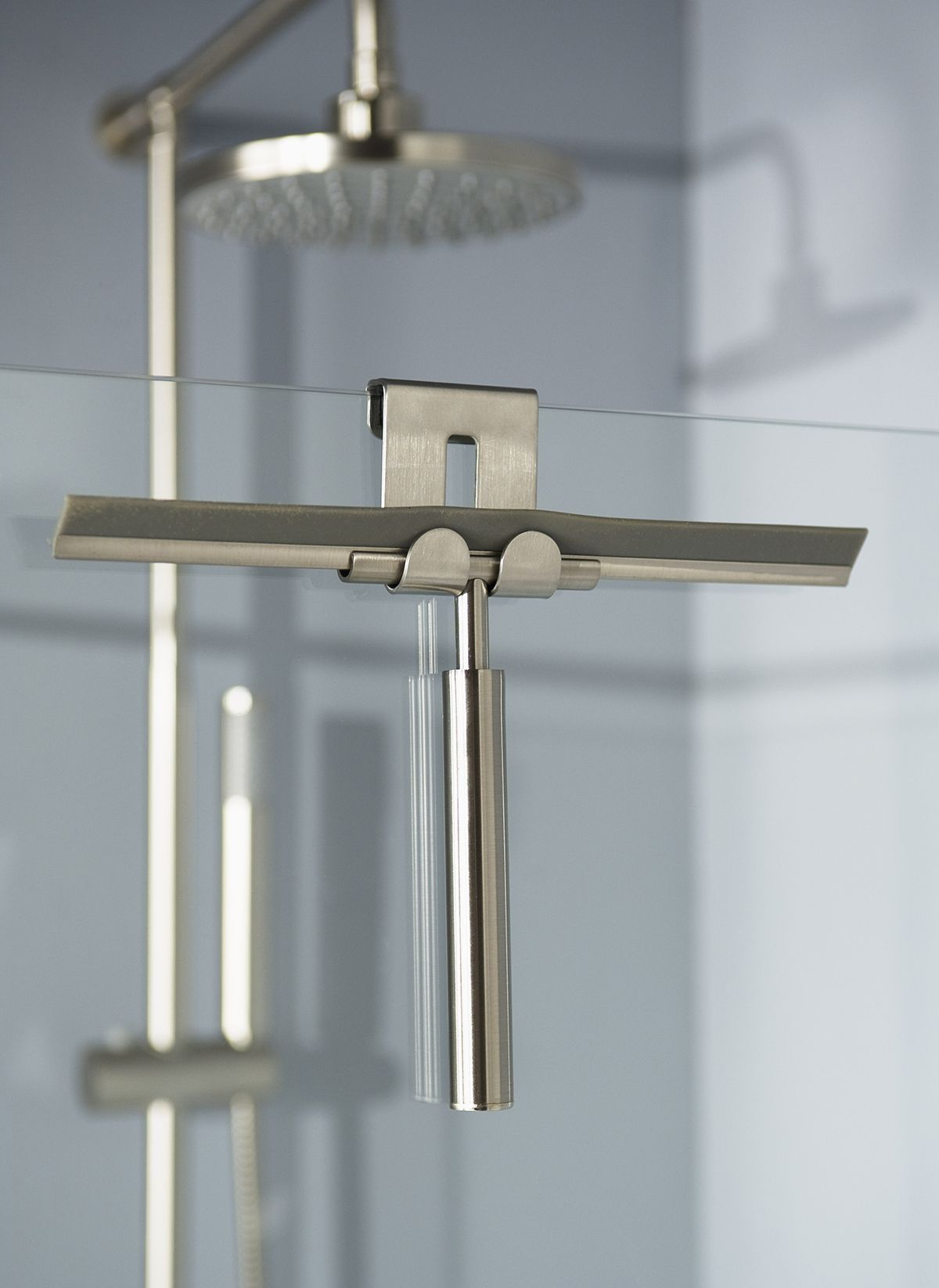 Handy shower wiper with holder from the Selection collection ...