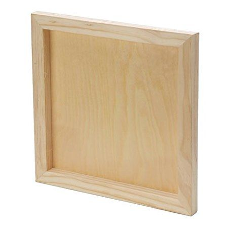Bulk Buy: Darice DIY Crafts Wood Wall Panel Unfinished 12 x 12 x 1 ...