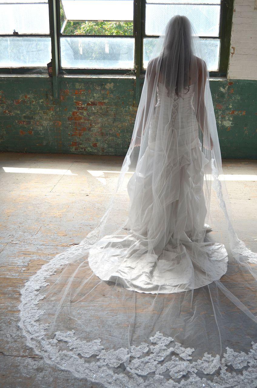 Lace Edge Elena Designs E1170L Royal Cathedral Wedding