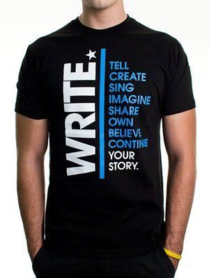 To Write Love On Her Arms Store - Write Guys Shirt Black