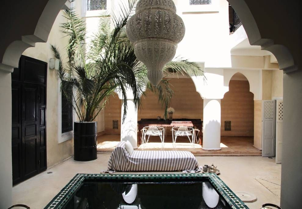 Pin by DAHABI Abderrahmanee on Maroc Pinterest Patios - location de villa a agadir avec piscine