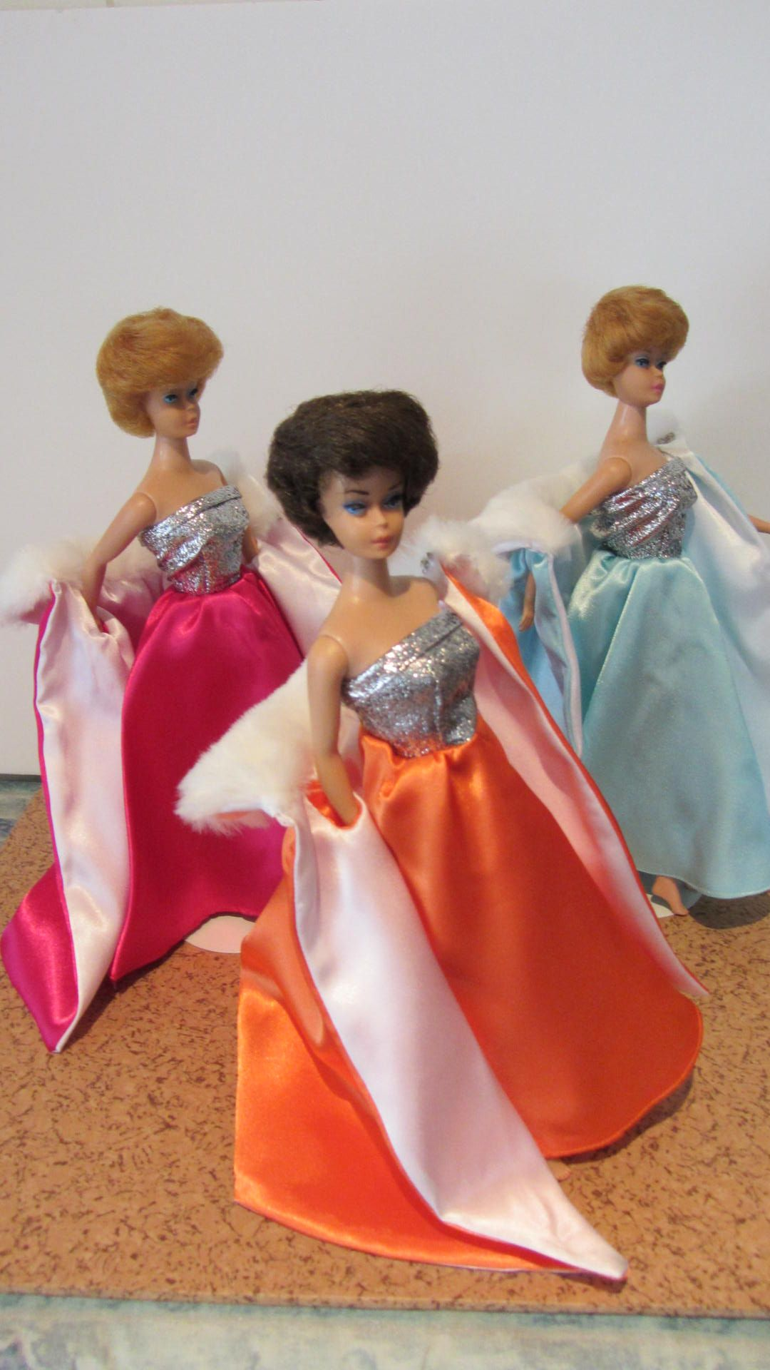 Blonde barbie pink dress  Fashions by me  My Fashion Doll Sewing  Pinterest