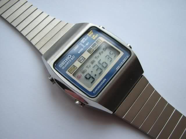 selección premium e4562 01af5 Seiko LCD vintage, lo más. | Watch | Reloj, Reloj digital y ...