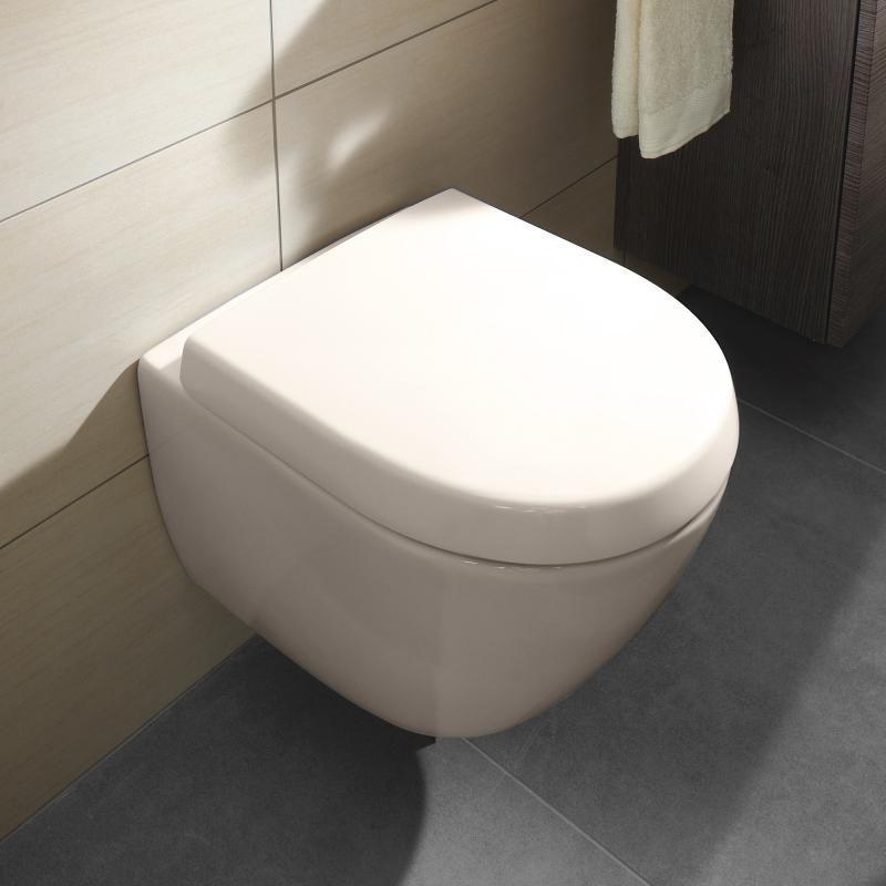 Villeroy Boch Subway 2 0 Wand Tiefspul Wc Compact Offener Spulrand Pergamon Mit Ceramicplus Koupelna