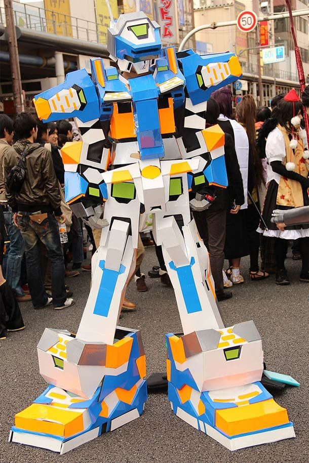 Cosplay Of The Day Cardboard Robot Diego S Birthday Ideas