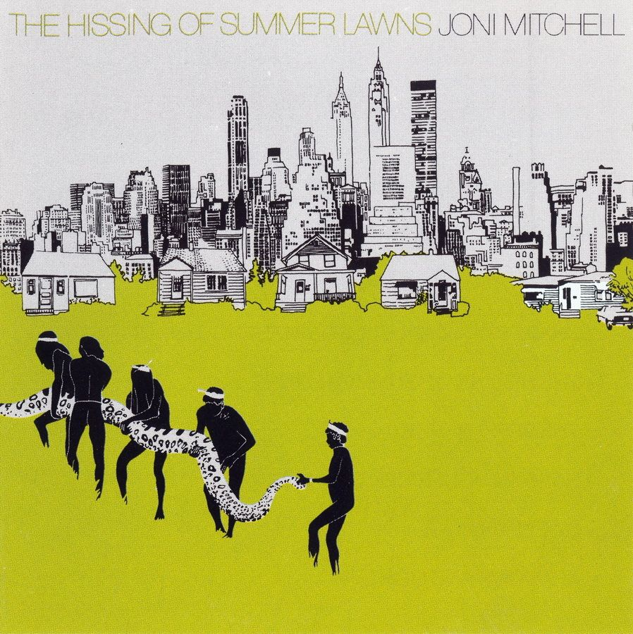 Joni Mitchell The Hissing of Summer Lawns in 2020 (With