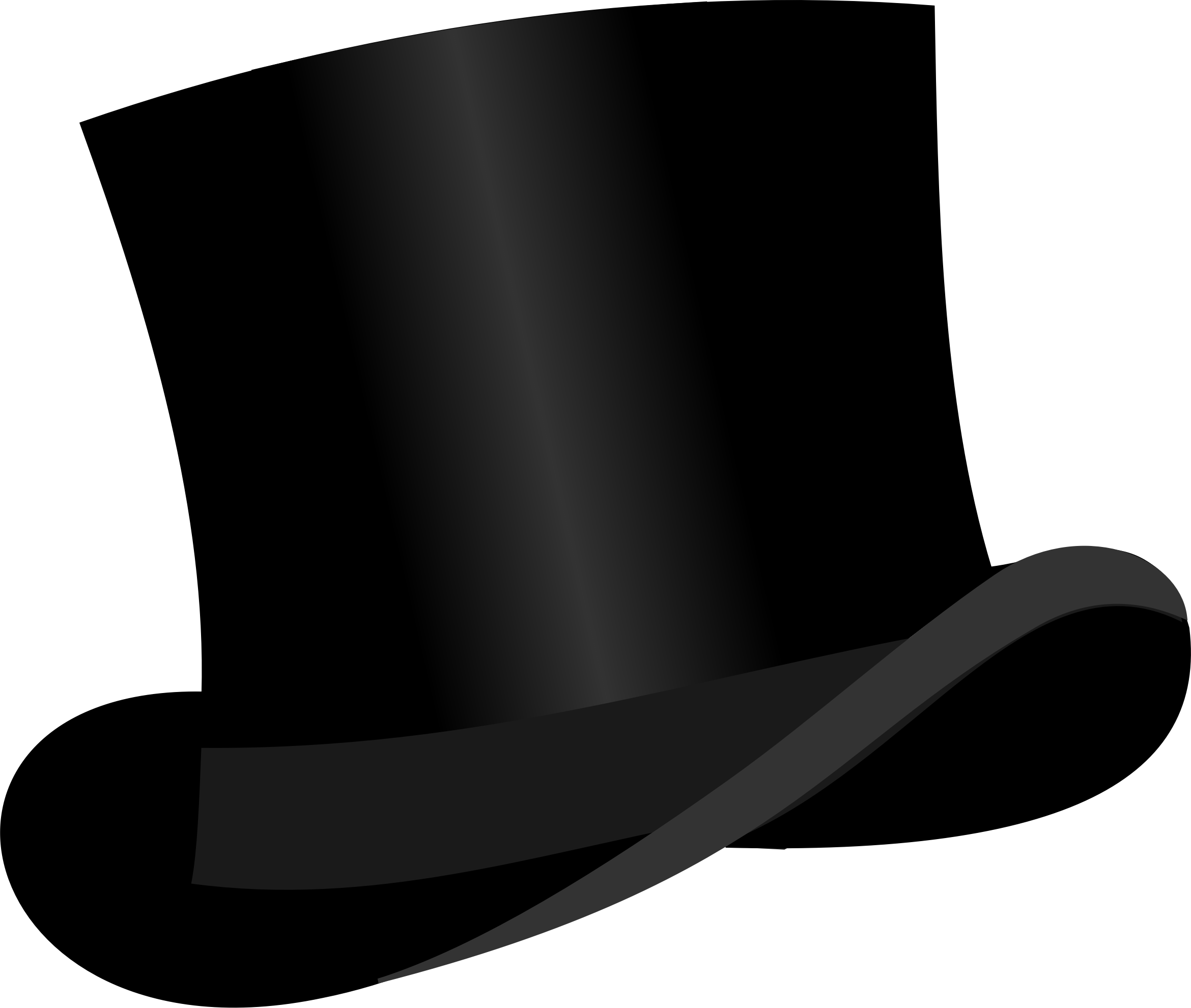Top Hat By Bonzo Top Hat Based On Http Openclipart Org Detail 181579 Top Hat By Liftarn 181579 On Openclipart Hat Base Hat Vector Top Hat