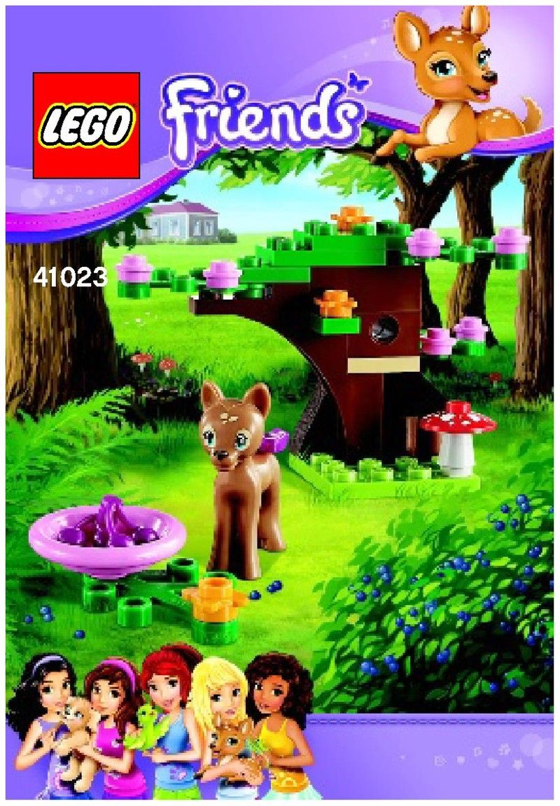 Friends Fawns Forest Lego 41023 00 Lego Box Or Cover