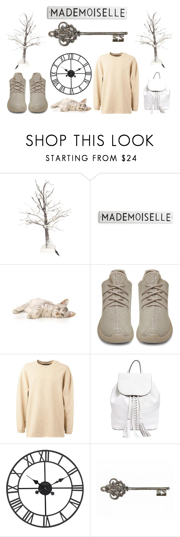 """Pale Snowy Winter"" by tamara-kotoyan on Polyvore featuring adidas Originals, Rebecca Minkoff, women's clothing, women's fashion, women, female, woman, misses and juniors"