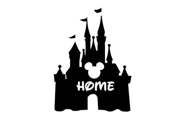 Cinderella Castle Home Iron On T Shirt Design Disneyland Castle Disneyland Castle Silhouette Cinderella Castle