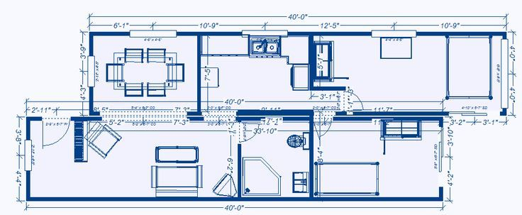 Shipping container homes free plans blueprints build - 40 shipping container home plans ...