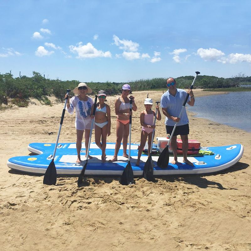 17' FEET INFLATABLE GIANT STAND UP SUP PADDLE BOARDS