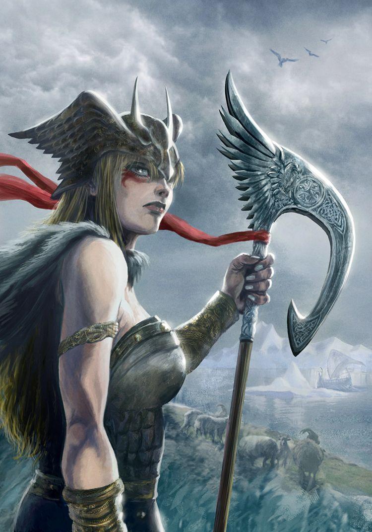Art of Dean Hsieh – Valkyrie Warrior | Fantasy, adventure ...