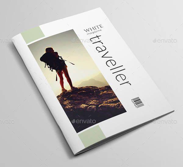 Indesign Magazine Template | news | Pinterest | Science magazine ...