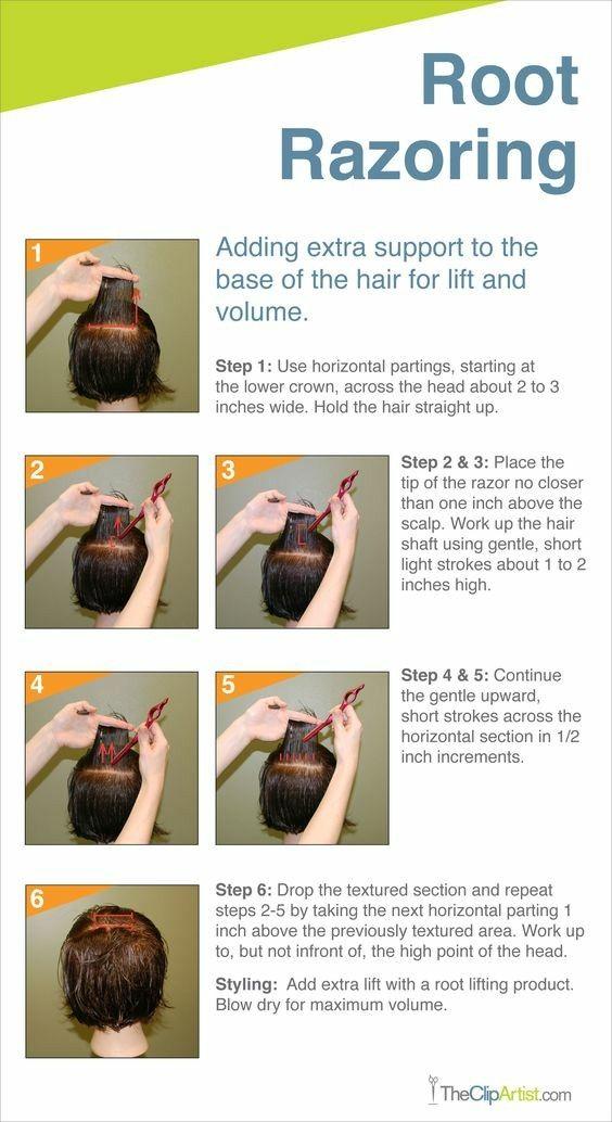 Root Razoring Howto Beauty Career Cosmetology School Hair