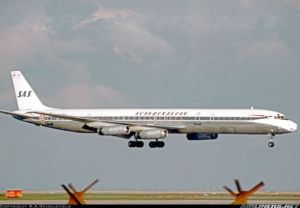 Scandinavian Airlines Sas Ln Moy Mcdonnell Douglas Dc 8 63 Aircraft Picture Douglas Dc 8 Scandinavian Airlines System Aircraft