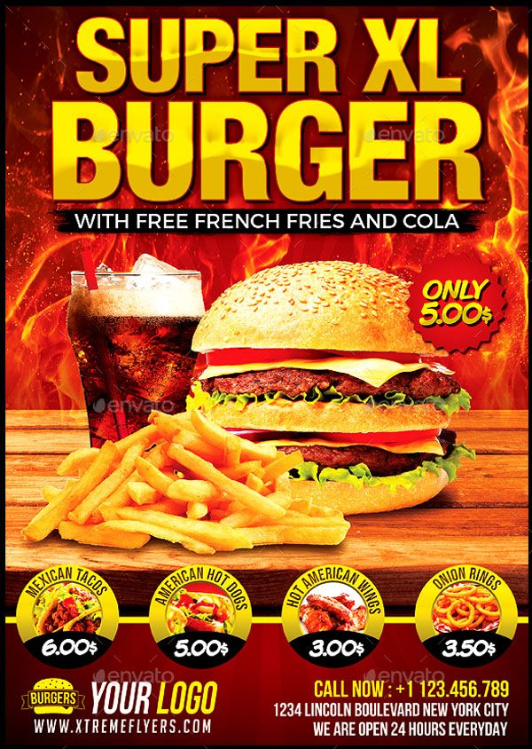 100 Free Premium Burger Flyers Psd Vector Eps Jpg Download