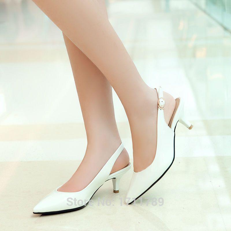White Wedding Womens High Heels Shues Weddingshues