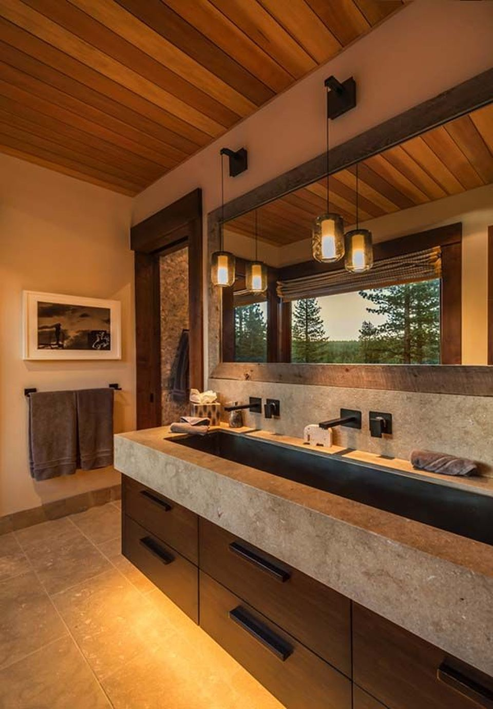 Inspiring Warm Modern Interior Decorations Style 6 Modern