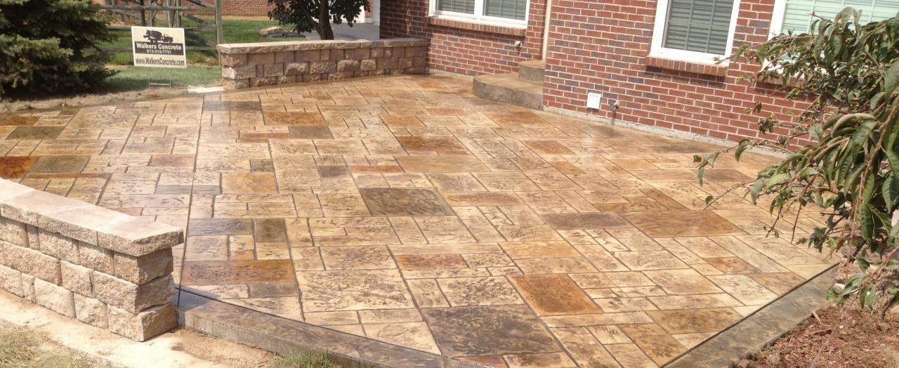 stamped concrete patio costs Blog Concrete Contractor