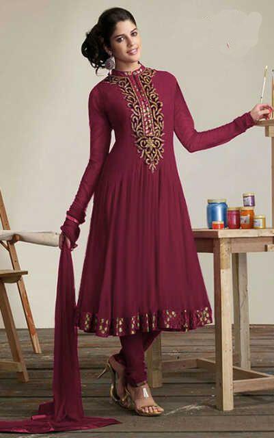Gamis Model India Terbaru Baju Gamis Terbaru Pinterest Trendy