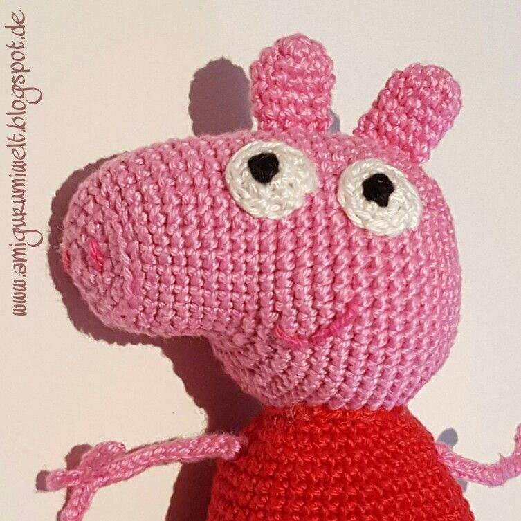 Amigurumi Häkeln Peppa Wutz Pig Kostenlos Amigurumis Pinterest