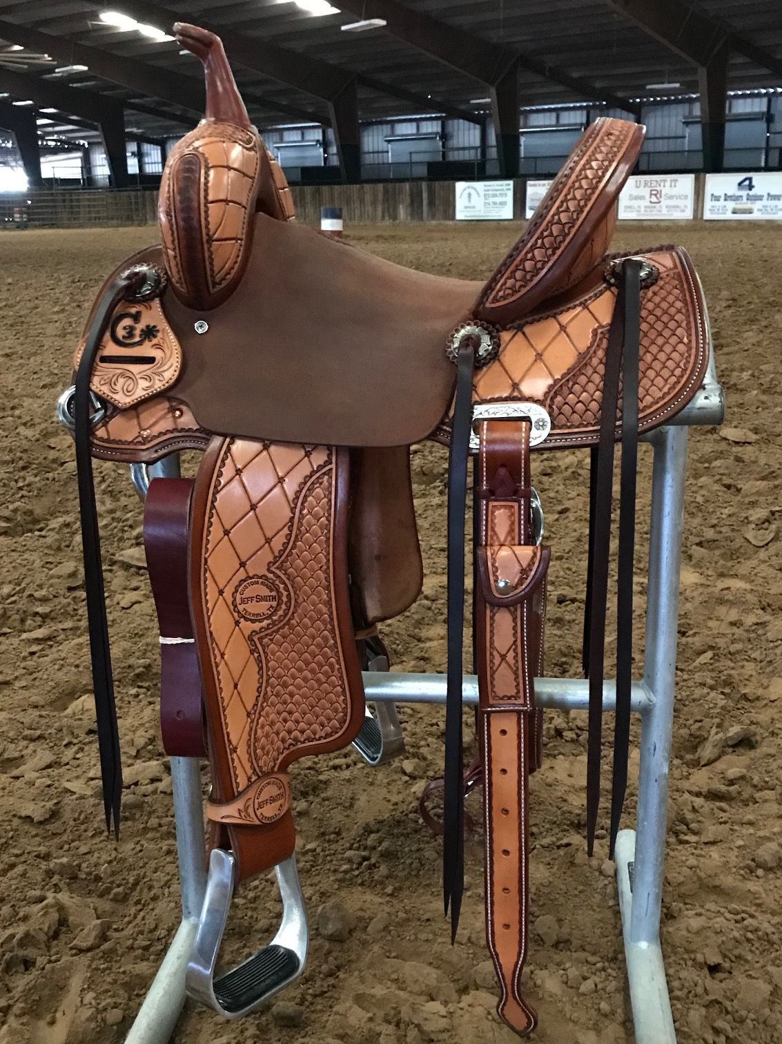 Jeff Smith's C3 Barrel Racer #4226 Seat: 13in Swell Height: 9in