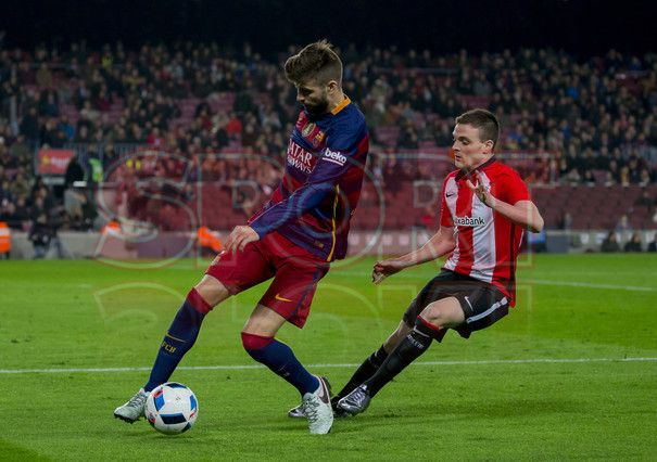 FC Barcelona,3 - Athletic Bilbao,1