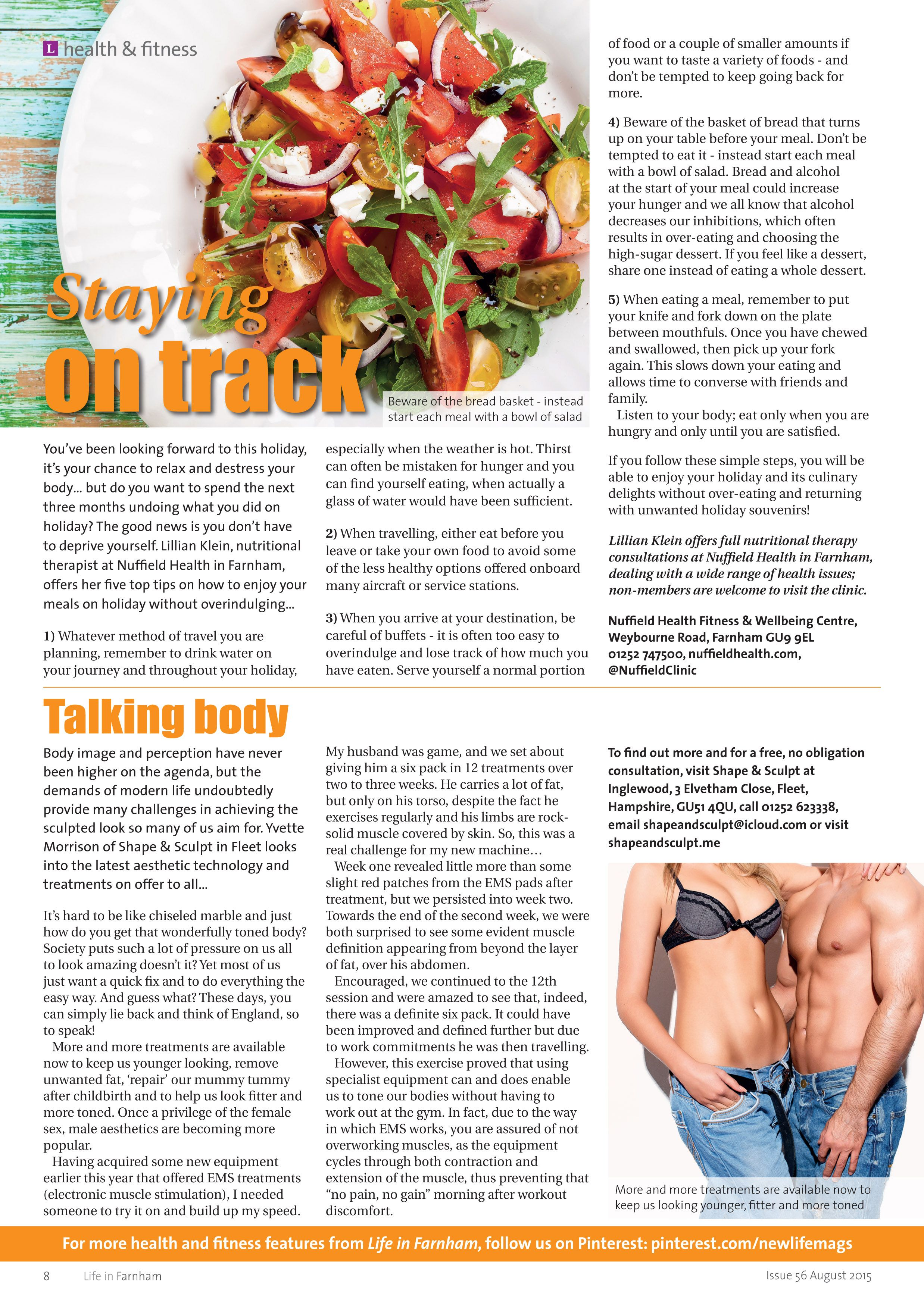 Aesthetic Holiday Staying On Track Top Tips For A Healthy Holiday Talking Body