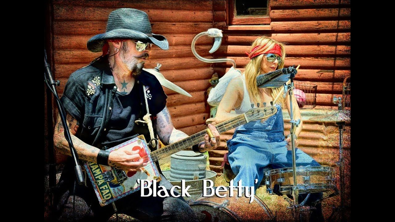 Official Music Video Black Betty Christopher Ameruoso Black Betty Music Videos Black