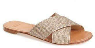 Stuart Weitzman 'Byway' Slide Sandal (Women)
