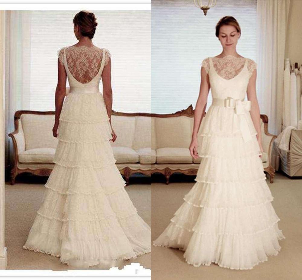 36++ White lace cap sleeve wedding dress information