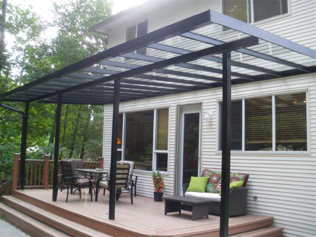 clear covered patio ideas. Covered Patio With Clear Glass Roof : Practical Designs Ideas F