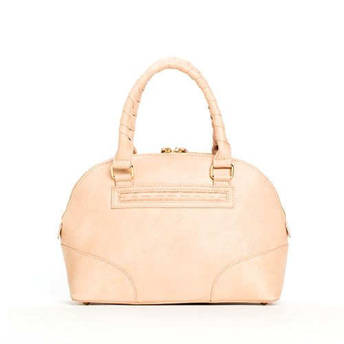 Mini Dome Satchel - Nude by Lupoluna on Trendy@Wendy