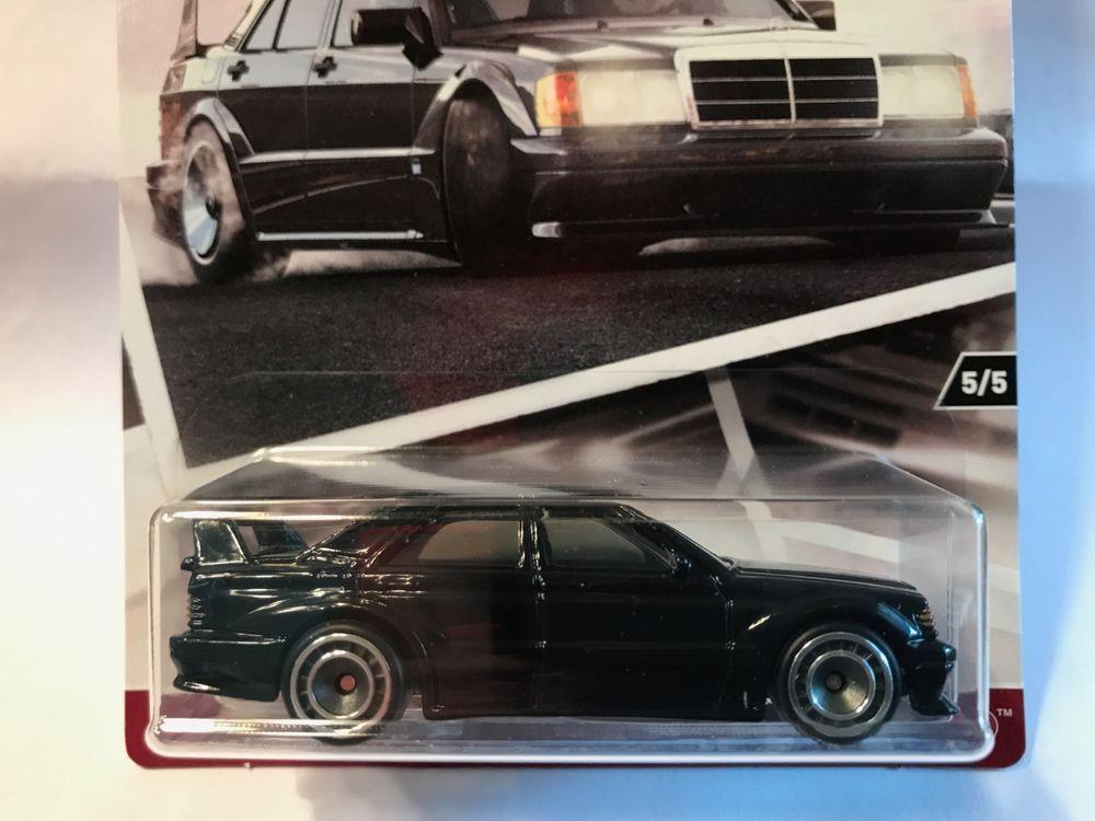 1:64 Hot Wheels Car Culture Modern Classics - Mercedes-Benz 190E ...