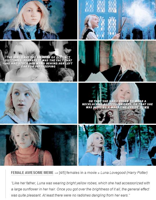Luna Lovegood Harry Potter Harry Potter Luna Lovegood Harry Potter Universal Harry Potter Facts
