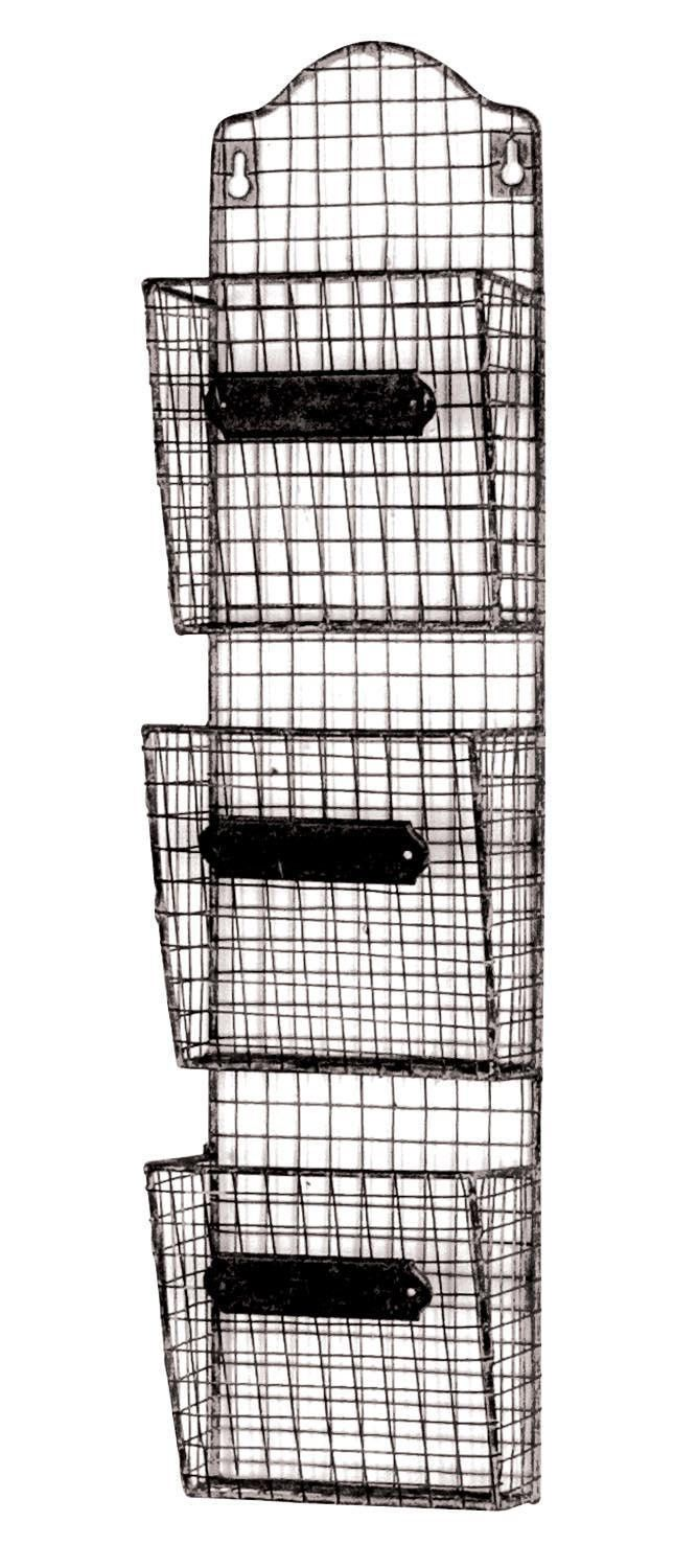 Iron Basket Kitchen Wall Storage from Chosen By Jessica | For the ...