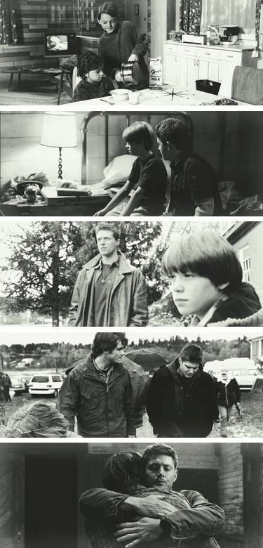 The boys through the years #Supernatural #SamWinchester #DeanWinchester