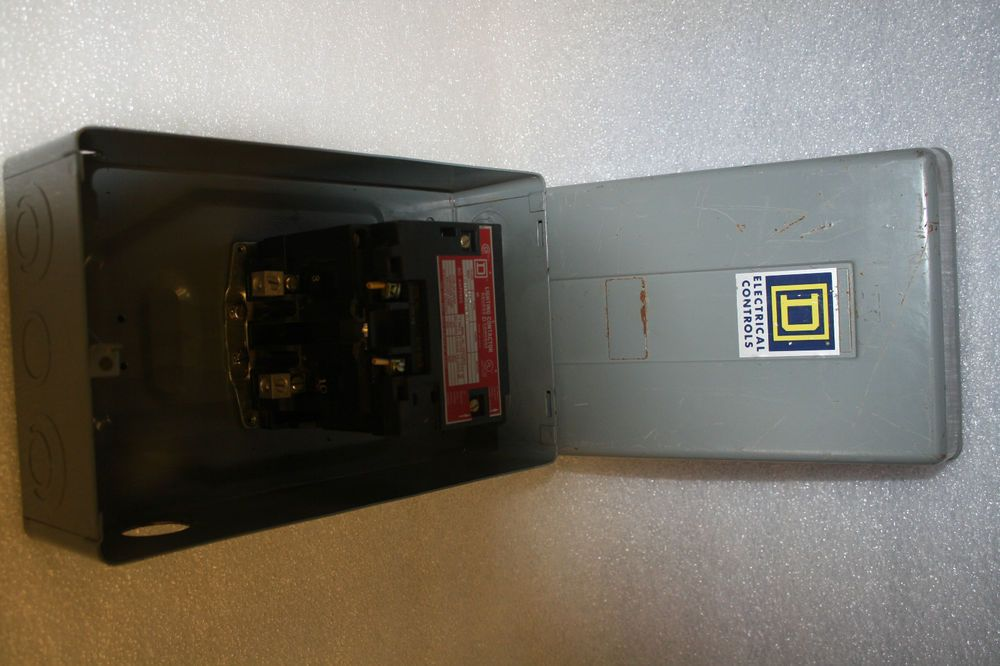 New Square D 8903 Spg1 8903spg1 60 Amp Lighting Contactor Squared Cool Things To Buy Square Ebay