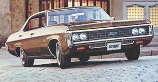 1969 Chevy Impala Brown With Black Vinyl Top And Interior 307 V8 Auto Trans Chevrolet Impala 1969 Chevy Impala Chevrolet