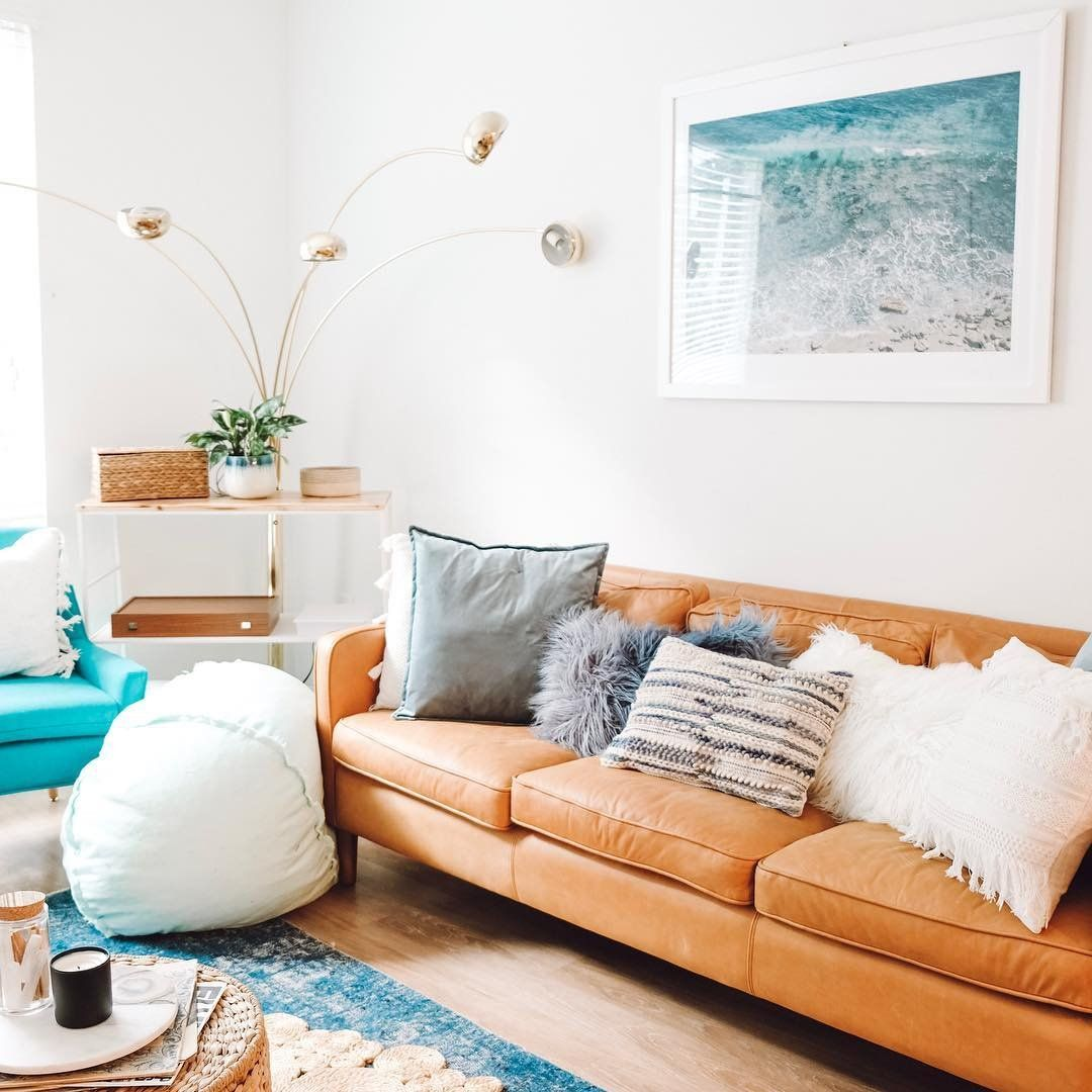 urbanoutfittershome  turquoise living room decor living
