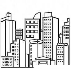 Resultado De Imagen De Ciudad Para Colorear Dibujos De Casas Infantiles Ciudad Para Dibujar Dibujos De Edificios