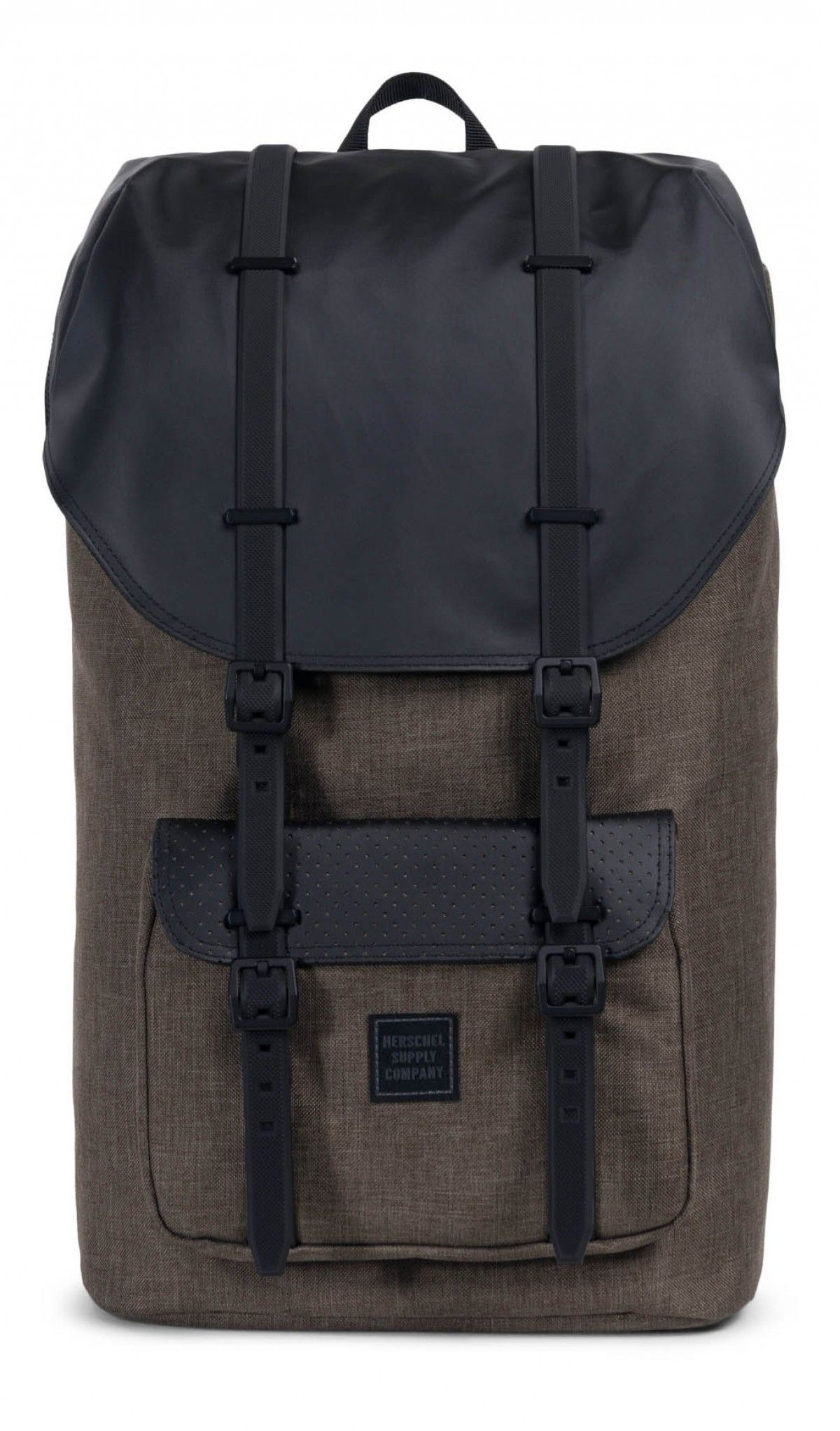 3ee6d3c0bad Herschel Little America Backpack Aspect Canteen Crosshatch Black ...