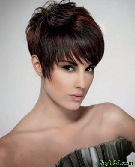 Chic Haircut The Cool And Amazing Pixie Cut. Short Hairstyles 2015Hairstyle  ...