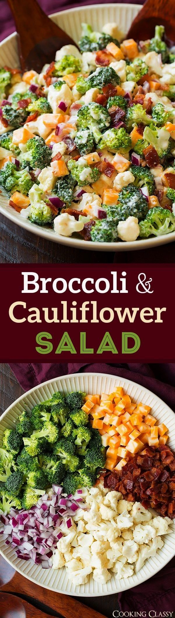 and Cauliflower Salad will quickly become a staple recipes! Its always a crowd favorite, who knew