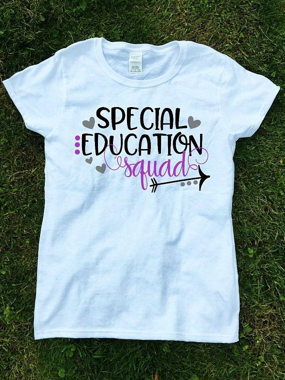 e822dbc9 special education teacher shirts, Teacher Shirts, Special Education Squad  Shirts, Teacher Gift, Teac