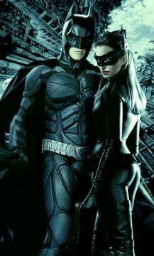 The Bat & the Cat #hotties