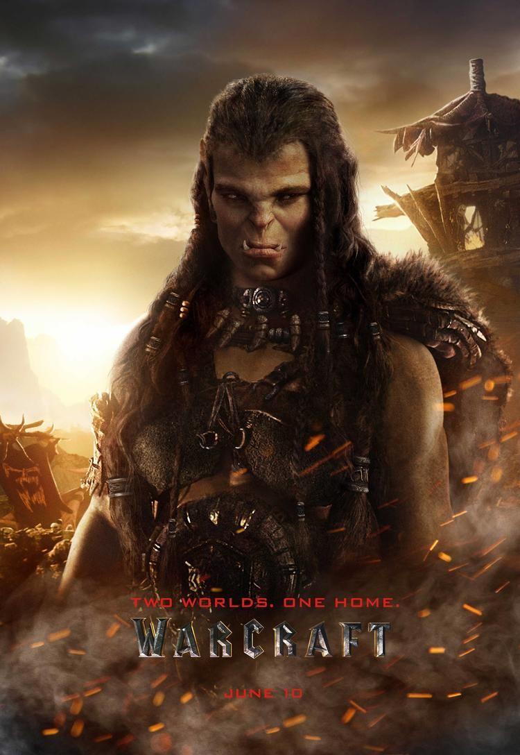 Warcraft Liberado Novo Poster Individual De Draka Orc Feminino World Of Warcraft Poster