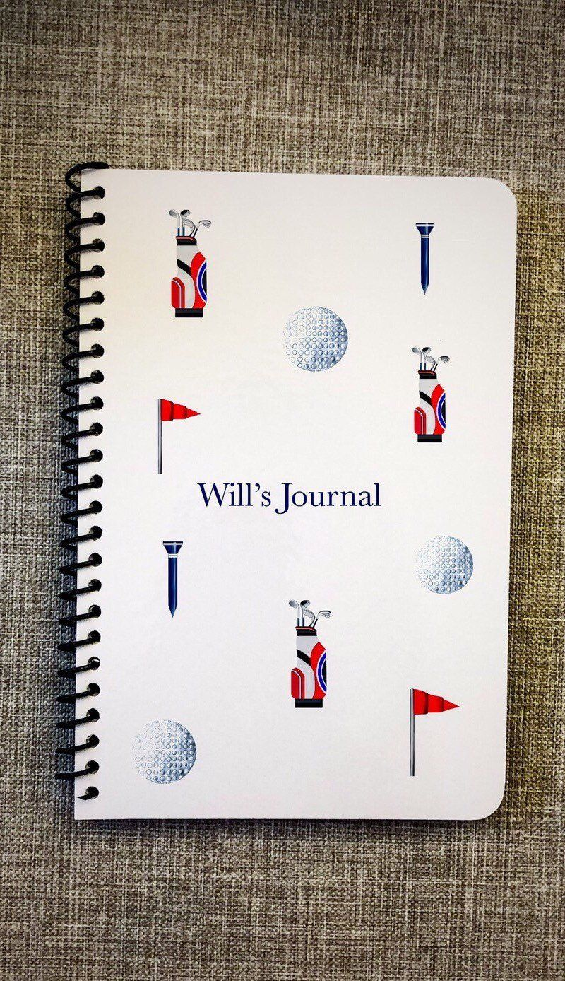 Bespoke stationary golf gifts college student gift