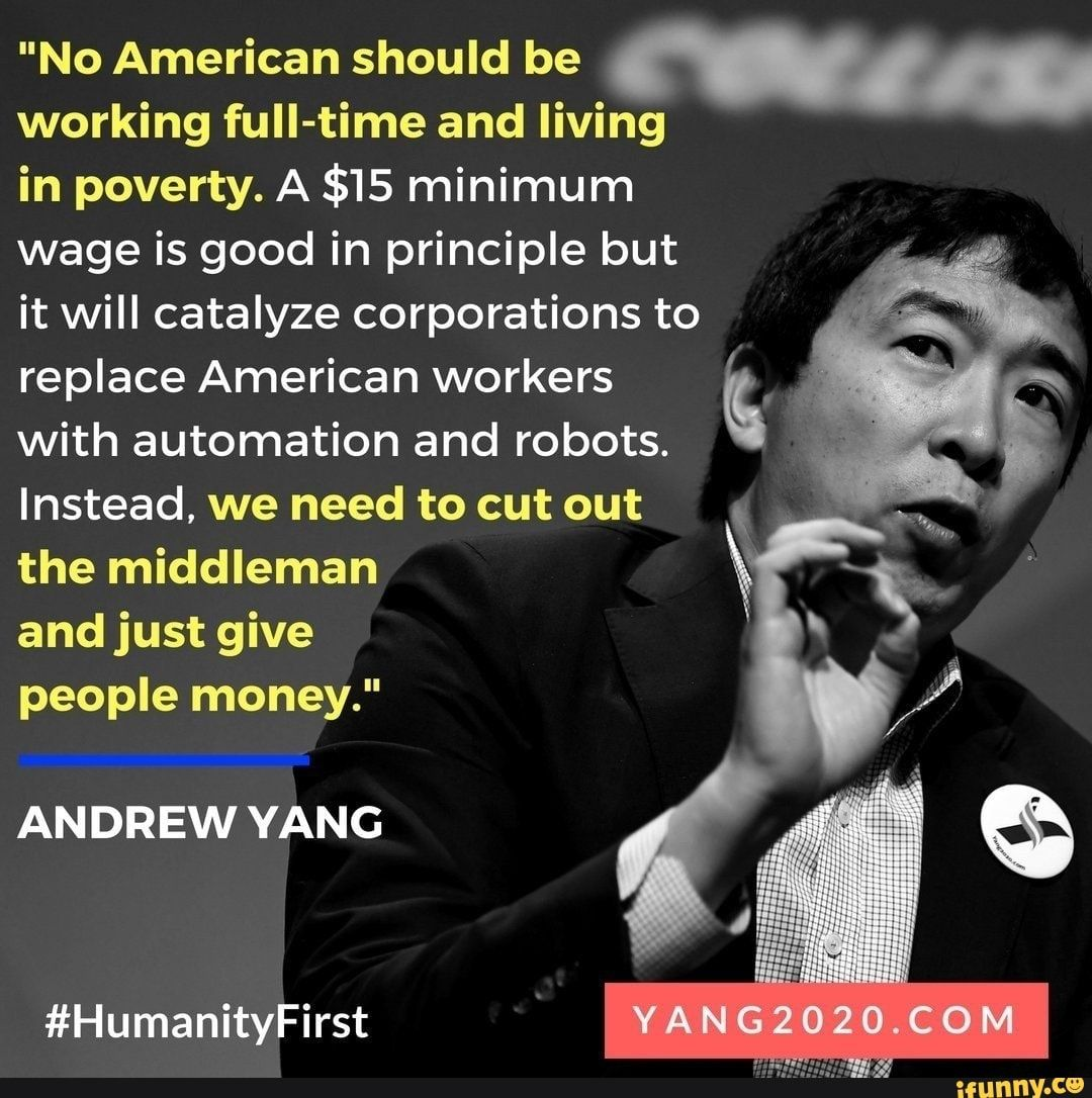 No American Should Be M Working Full Time And Living In Poverty A 15 Minimum Wage Is Good In Principle But It Will Catalyze Corporations To Replace American Self Motivation Just